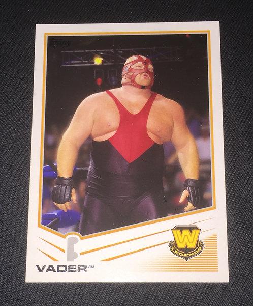 Vader WWE Wrestling Trading Card