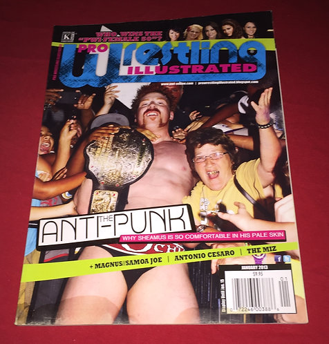 Pro Wrestling Illustrated January 2013 - Sheamus
