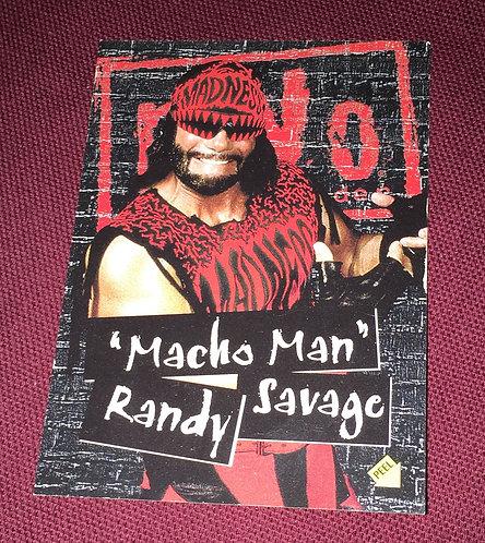 """""""Macho Man"""" Randy Savage WCW/nWo Wrestling Trading Card"""