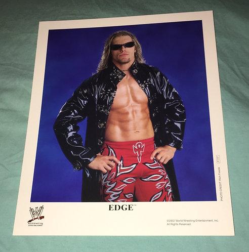Edge WWF/WWE Promo Photo P-737 (2002)