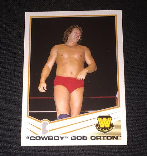 """""""Cowboy"""" Bob Orton WWE Wrestling Trading Card"""