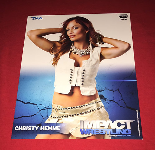 Christy Hemme 8x10 Promo Photo