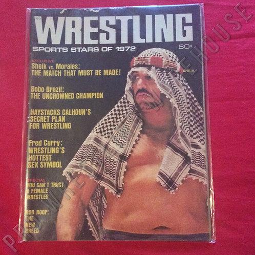 Wrestling Sports Stars of 1972