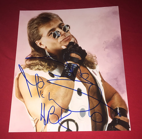 Shawn Michaels Autographed 8x10 Wrestling Promo Photo