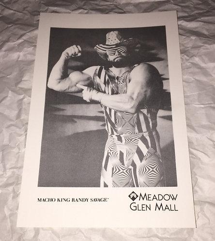 """Macho King"" Randy Savage 6x8 Promo Photo"
