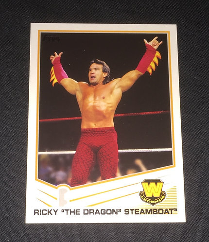 "Ricky ""The Dragon"" Steamboat WWE Wrestling Trading Card"