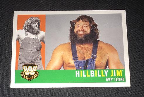 HillBilly Jim WWE Legends Wrestling Trading Card