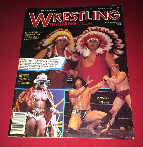 Wrestling Training Illustrated - Winter 1982-1983