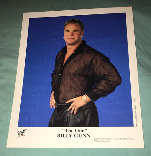 """The One"" Billy Gunn WWF/WWE Promo Photo P-675 (2001)"