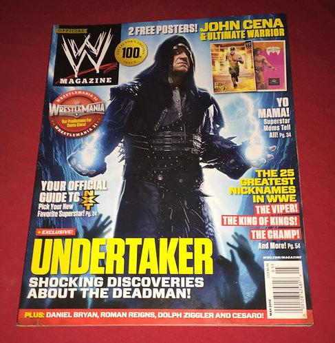 WWE Magazine May 2014 - The Undertaker