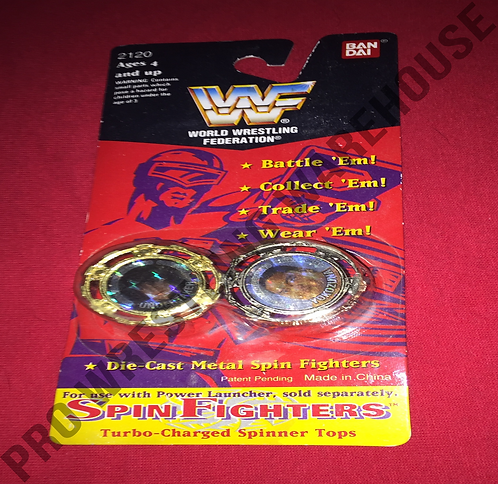 WWF, WWE Spin Fighters - The Undertaker -vs- YokoZuna