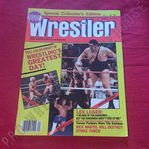 The Wrestler - April 1988