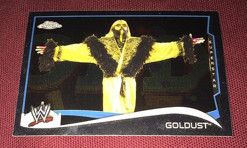 GoldDust WWE Topps Chrome Wrestling Card