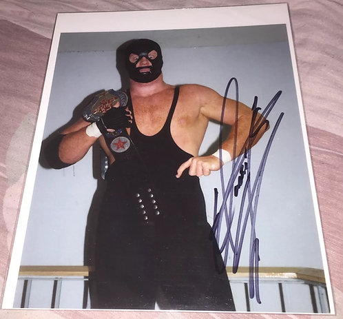 The Punisher - Undertaker Rookie Autographed 8x10