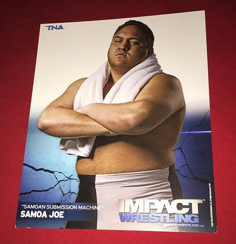 Samoa Joe 8x10 Promo Photo
