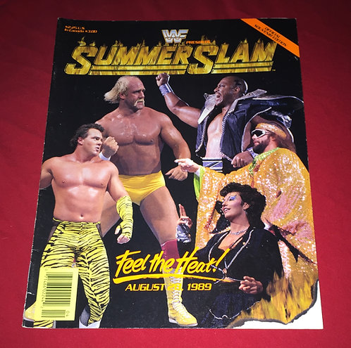 WWF/WWE Summer Slam Program, August 28th, 1989