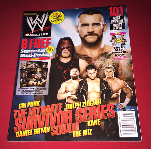 WWE Magazine November 2012 - Survivor Series Squad