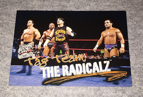 The Radacalz WWF/WWE Wrestling Trading Card