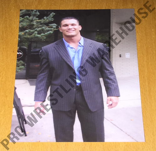 Randy Orton 4x6 Wrestling Photo - Rookie, Posed in Suit, WWE