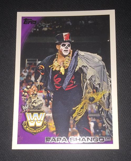 Papa Shango WWE Wrestling Trading Card
