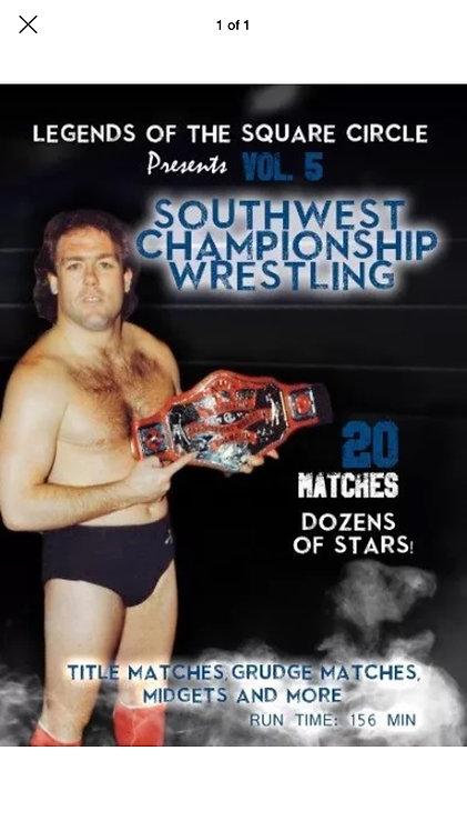 Southwest Championship Wrestling DVD
