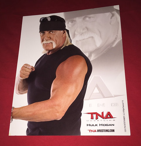 Hulk Hogan 8x10 Promo Photo