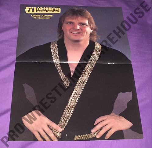 Chris Adams Wrestling Poster - NWA, World Class, WCCW