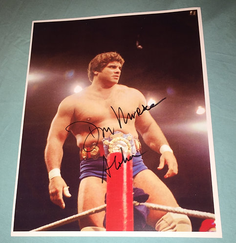 """""""Magnificent"""" Don Muraco Autographed Photo"""