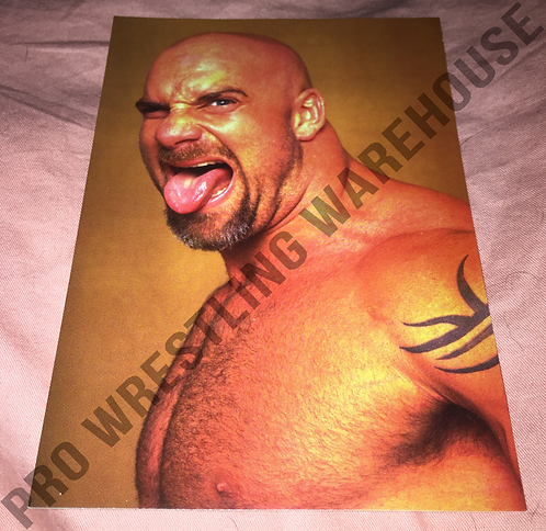 GOLDBERG WCW Wrestling Promo Photo