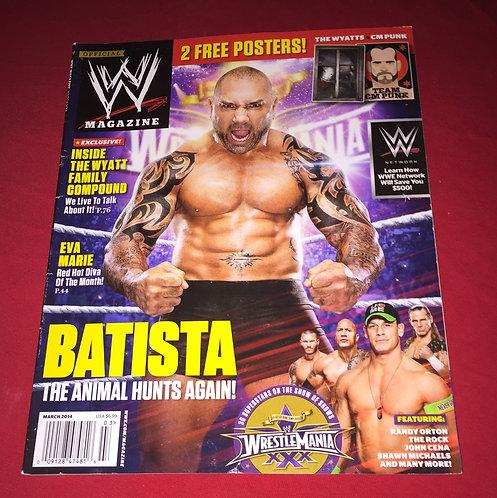 WWE Magazine March 2014 - Batista