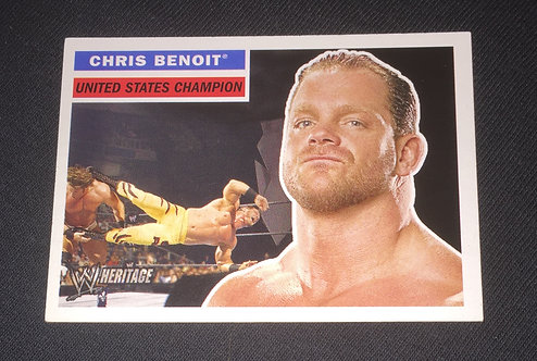 Chris Benoit WWE Wrestling Trading Card