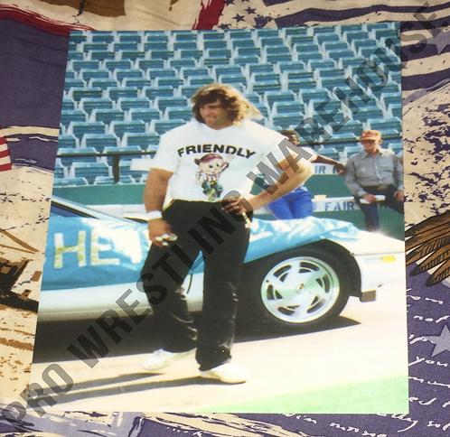Kerry Von Erich 4x6 Wrestling Photo - Cotton Bowl, WCCW, World Class, NWA, AWA