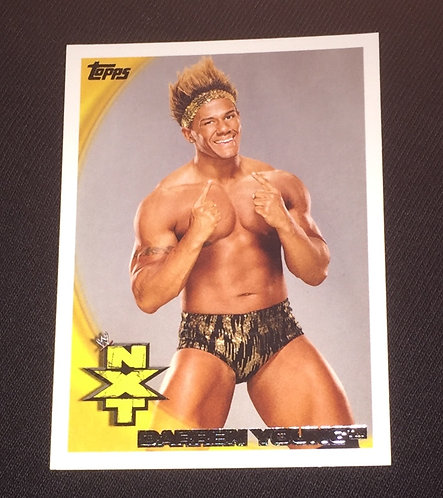 Darren Young NXT, WWE Wrestling Trading Card