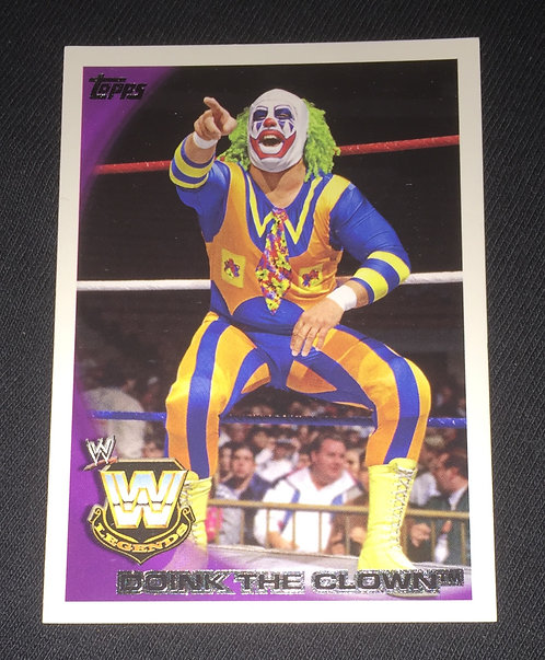 Doink The Clown WWE Wrestling Trading Card