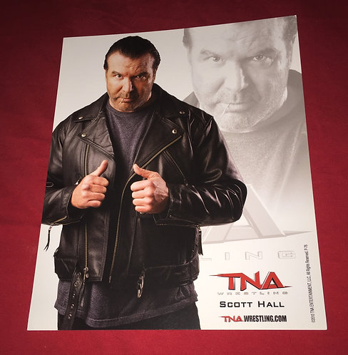 Scott Hall 8x10 Promo Photo