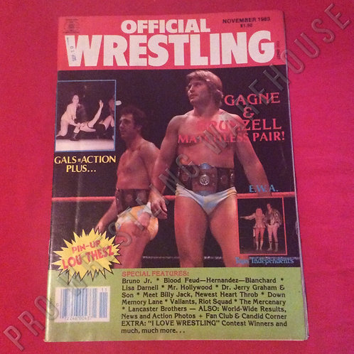 Official Wrestling - November 1983