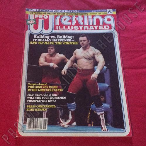 Pro Wrestling Illustrated - November 1986