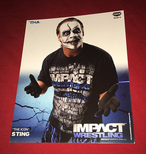 "Sting ""Joker"" 8x10 Promo Photo"