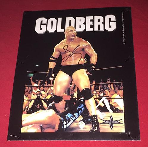 Goldberg Autographed 8x10 WCW Promo Photo