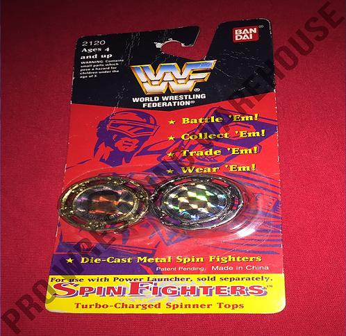 WWF, WWE Spin Fighters - Razor Ramon -vs- Bam Bam Bigelow