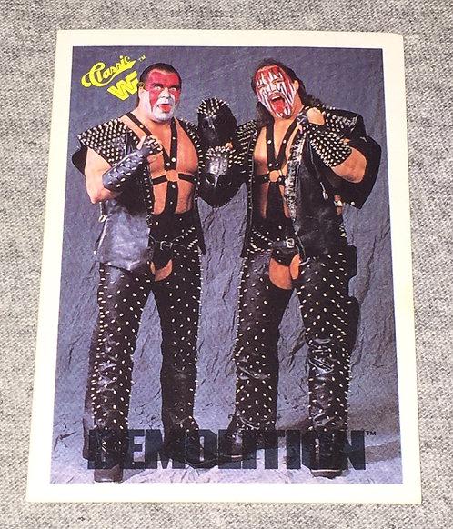 Demolition Ax & Smash WWF/WWE Classic Wrestling Trading Card