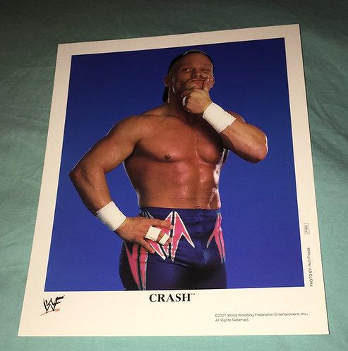 Crash WWF/WWE Promo Photo P-663 (2001)