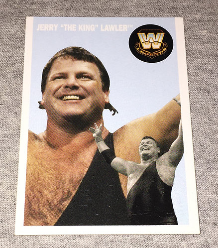 "Jerry ""The King"" Lawler WWE Legends Wrestling Trading Card"