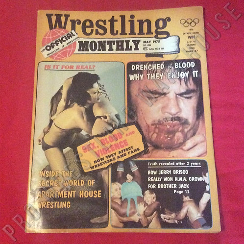 Wrestling Monthly - May 1975
