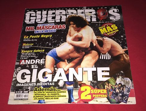 Guerrero's Lucha Libre Magazine, Issue 192 - 2009, Andre The Giant, Mil Mascaras