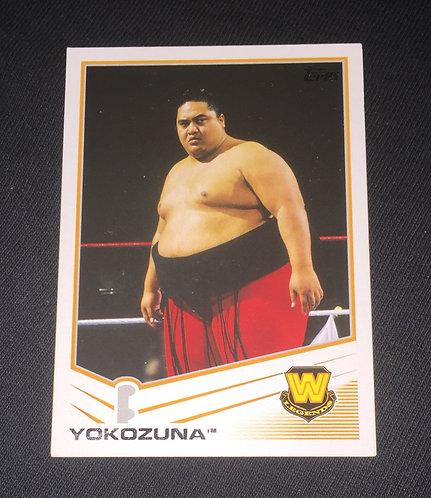 Yokozuna WWE Wrestling Trading Card