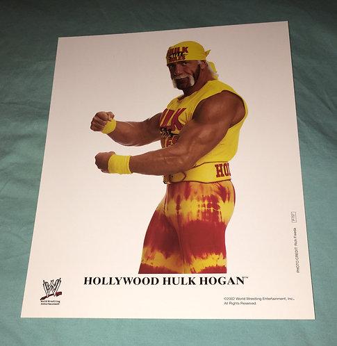 """Hollywood"" Hulk Hogan WWF/WWE Promo Photo P-757 (2002)"