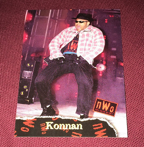 Konnan WCW/nWo Wrestling Trading Card