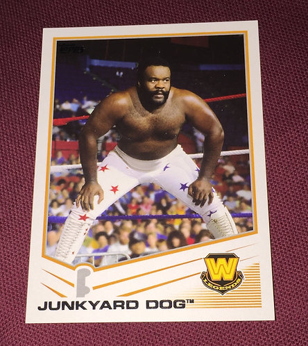 JunkYard Dog WWE Wrestling Trading Card