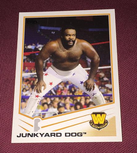 JunkYard Dog WWE Wrestling Trading Card
